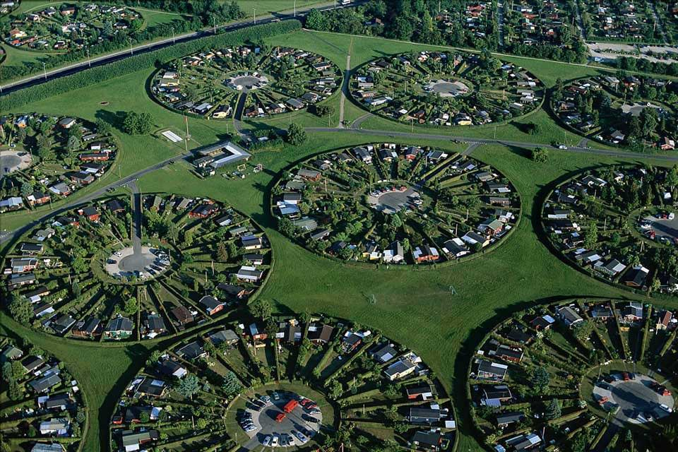 Stunning Aerial Photos Suburban Neighborhoods Around The World