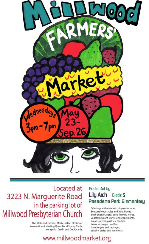 Farmers market w Lily Arch 2012